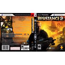 Ps3 - Resistance 2 - Míd Fís - Original - Semi