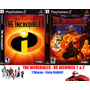 The Incredibles - Os Incriveis - Playstation 2 Frete Gratis