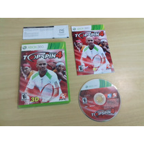 Top Spin 4 - Xbox 360 - Completo - Original - Tenis