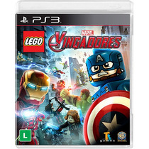 Jogo Lego Marvel Vingadores - Ps3 - Playstation 3