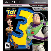 Toy Story 3 The Video Game - Ps3 - Psn