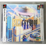 Jogo Sim City 2000 Ps1 Psx Original Game Completo Manual Jap