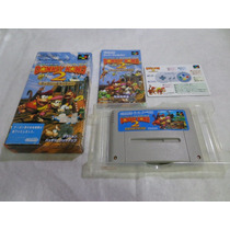 Donkey Kong 2 Original Japones Completo P/ Super Famicom