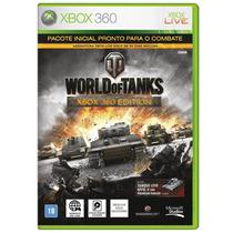 World Of Tanks Xbox 360 Jogo Online Novo Original Lacrado