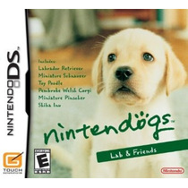 Lacrado Original Nintendodogs Lab Nintendo Ds Dsi Xl 3ds