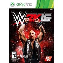 Jogo Luta Livre Novo Xbox 360 Wwe 2016 2k16 X360 Microsoft