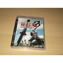 Ps3 - Samurai Dou 3 ( Way Of The Samurai 3 Japonês )