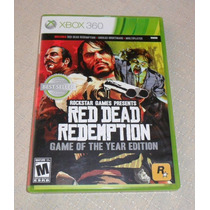 Red Dead Redemption Game Of The Year Xbox 360 Midia Fisica