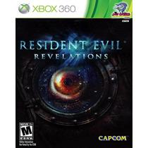 Jogo Xbox 360 - Resident Evil Revelations - Novo