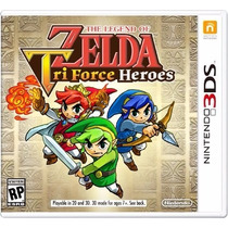 The Legend Of Zelda Triforce Heroes 3ds Mídia Fisica E-sedex