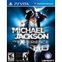 Michael Jackson The Experience Jogo Ps Vita Original Lacrado