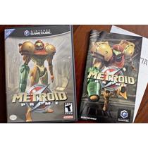 Metroid Prime - Original C/ Manual - Gamecube Gc E Wii