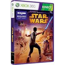 Kinect Star Wars Xbox 360 Novo Original Midia Em Dvd Lacrado