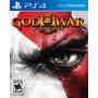 God Of War 3 Remasterizado Ps4 Português M. Física Lacrado