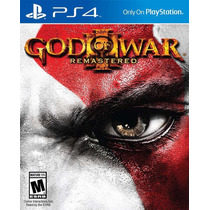 God Of War 3 Remasterizado Ps4 Português M. Física Lacrado