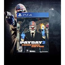 Payday 2: Crimewave Edition Ps4 Código Psn Envio Imediato