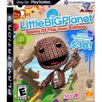 Jogo Ps3 - Little Big Planet Goty - Usado