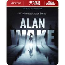 Alan Wake - Xbox 360 - Código De 25 Dígitos - Riosgames