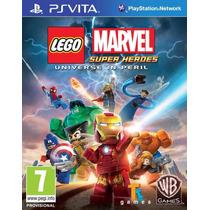 Lego Marvel Ps Vita Sony Original Lacrado Pronta Entrega !!!