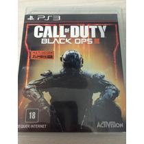 Call Of Duty Black Ops 3 Iii Para Ps3 Novo Lacrado Português