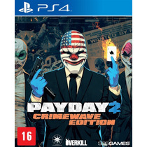 Jogo Payday 2: Crimewave Edition - Ps4 505 Games