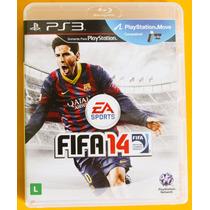 Fifa 14 Ps3 Original Em Midia Playstation