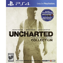 Uncharted Ps4 The Nathan Drake Collection - Mídia Física