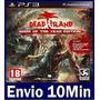 Dead Island Game Of The Year Edition - Ps3 Código Psn