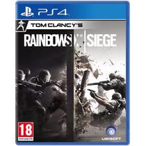 Tom Clancys Rainbow Six Siege Ps4 Primária Garantia E Pt/br
