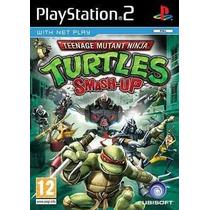 Tartarugas Ninja Smash Up Ps2 Patch Com Capa E Impressão