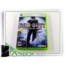 X360 Call Of Duty World At War Original Xbox 360