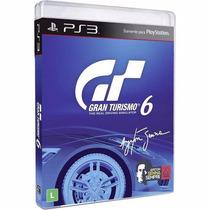 Gran Turismo 6 Ps3 Português Original Mídia Física Lacrado