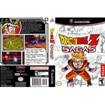 Dragon Ball Z Sagas - Jogo Gamecube Original Sem Manual