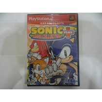 Sonic Mega Collection Plus - Ps2 - Lacrado!