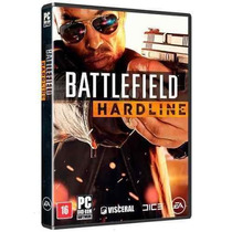 Battlefield Hardline - Pc Dvd - Portugues - Original Lacrado