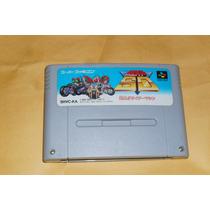 Cartucho De Snes/super Famicom Kamen Raider Sd Est Road Rash