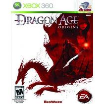Jogo Xbox 360 - Dragon Age Origins - Novo