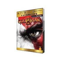 God Of War 3/midia Física/ps3/original/lacrado/frete Grátis