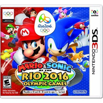 Mario & Sonic: At The Rio 2016 Olympic Games - 3ds