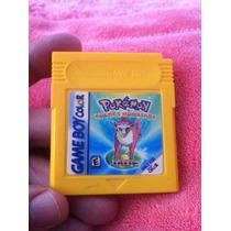 Fita Cartucho Game Boy Color Rocket Monsters Jade Original