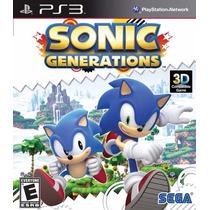 Sonic Generations - Jogo Playstation 3