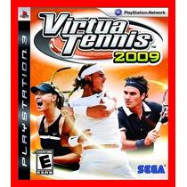 Virtua Tennis 2009 Midia Fisica Usado - Ps3