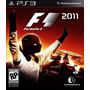 F1 2011 - Jogo Formula Um Para Playstation 3 Semi Novo