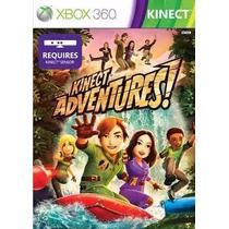 Game Jogo Kinect Adventures Xbox 360 Original
