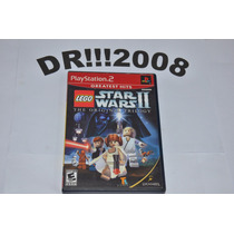 Lego Star Wars 2 Original E Completo P/ Playstation 2!!!