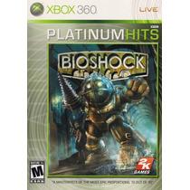 Bioshock Platinum Hits Xbox 360 Original Lacrado A5466