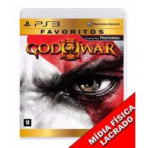 God Of War 3 Ps3 Mídia Física Lacrado