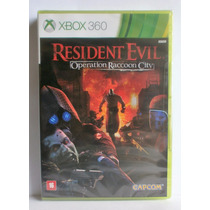 Resident Evil Operation Raccon City - Xbox 360 Novo Lacrado