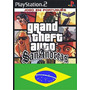 Gta San Andreas Legendado Ps2 Patch Frete Unico