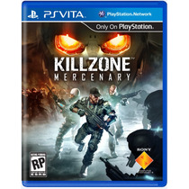 Jogo Novo Lacrado Killzone: Mercenary Para Ps Vita